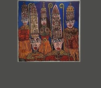PRÊTRE AU LONG NEZ, 200 x 153 de 2007